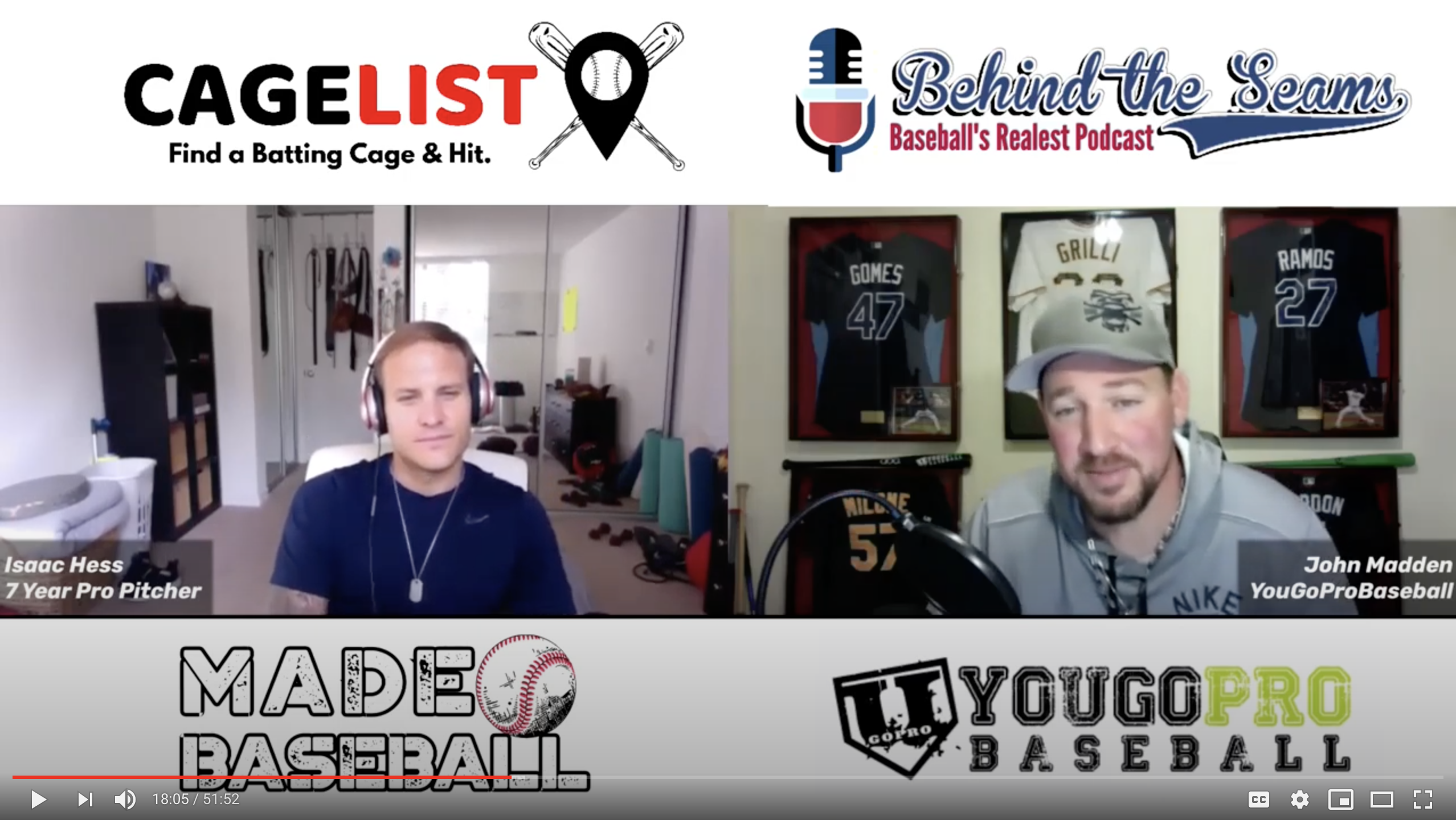 CageList and YouGoPro Baseball